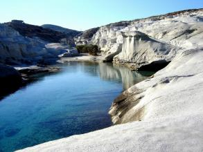 Best of Milos-Full Day Semi Private Sightseeing & Swimming tour